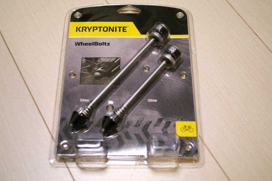 KRYPTONITE WheelBoltzのパッケージ