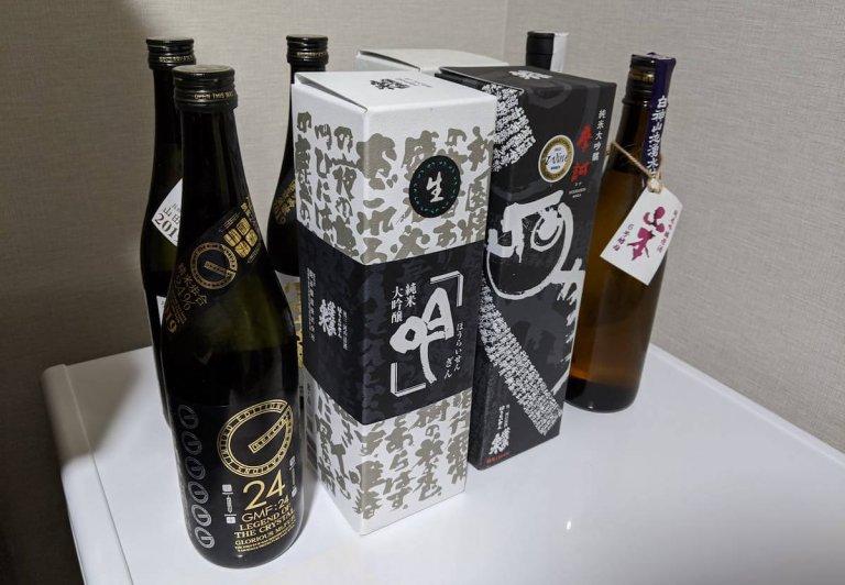 冷蔵庫にあった日本酒を日本酒用冷蔵庫に移動