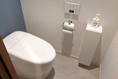 自宅のリフォームしたトイレ、ネオレスト