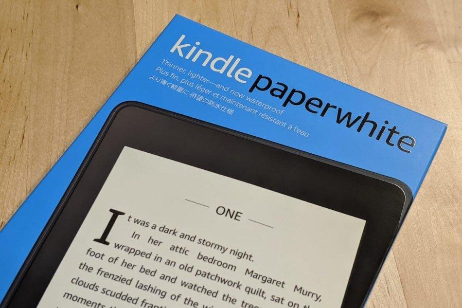 Kindle Paperwhiteの外箱