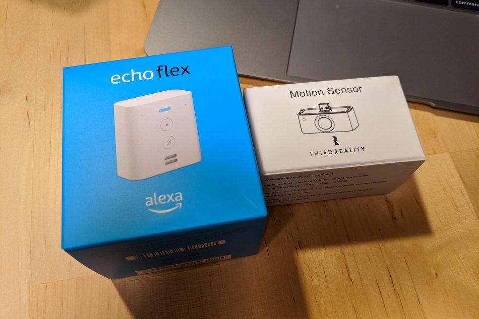 Echo FlexとMotion Sensor