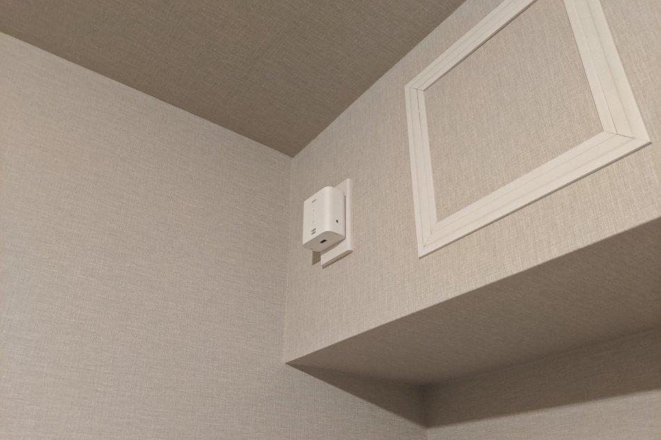 Echo Flexの設置場所、エアコンのコンセント