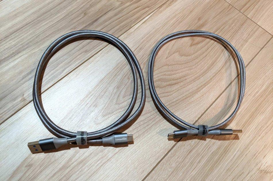 Amazonベーシック USB Type-C(3.1 Gen2)とType-C(2.0)