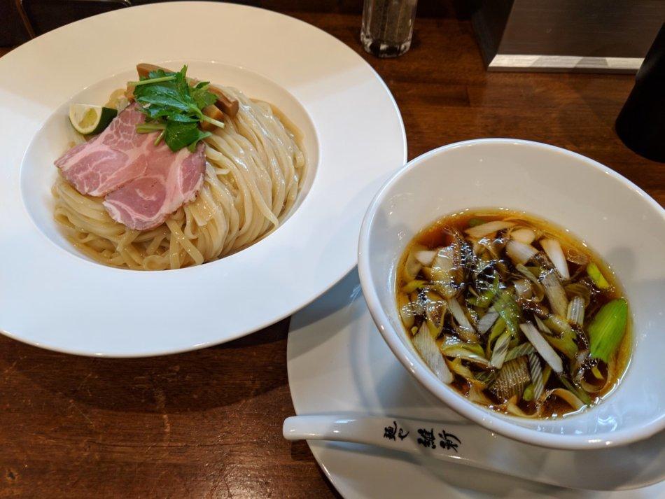 麺や 維新:つけ麺大盛り(1,000円)