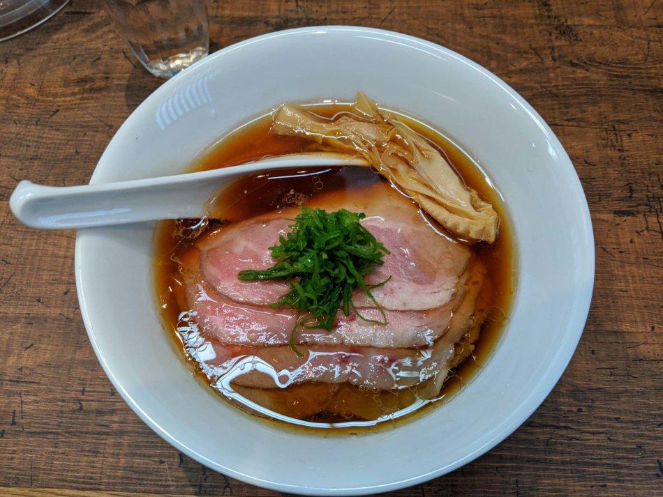 神保町 黒須:特製醤油蕎麦 1,100円