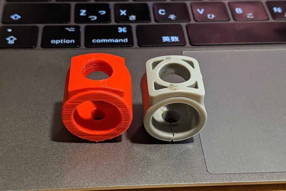 3DプリンターでIKEAのスタッキングチェア(VILMAR)パーツが完成